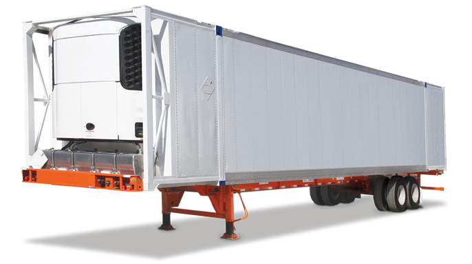 REFRIGERATED DOMESTIC CONTAINER FRONT